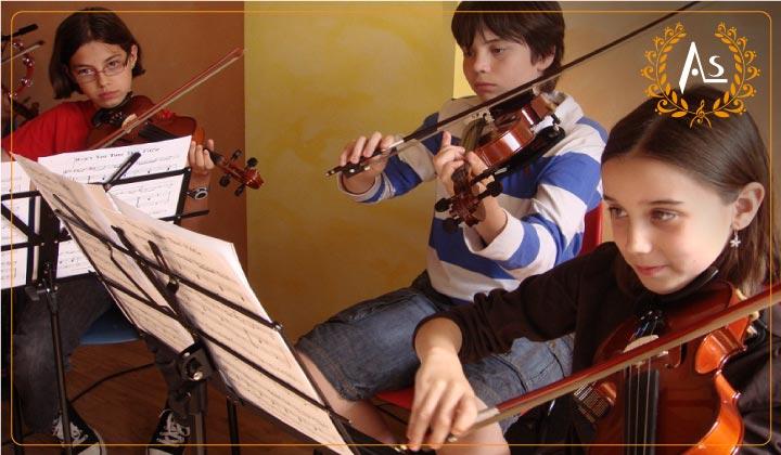 talleres de violin, Conservatorio de musica Huancayo -Perú